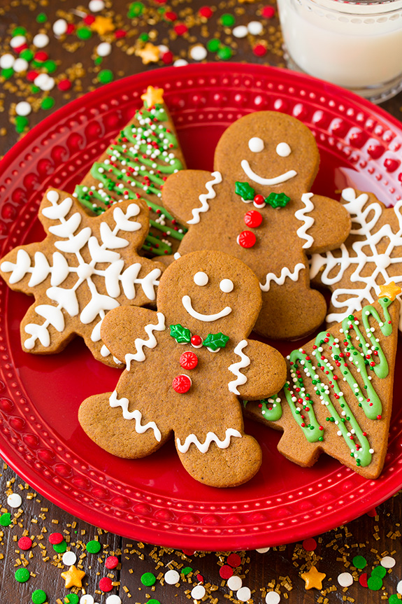 Christmas Gingerbread Cookies Recipe.Gingerbread Men Recipe Blue Sky Personal Support Workers